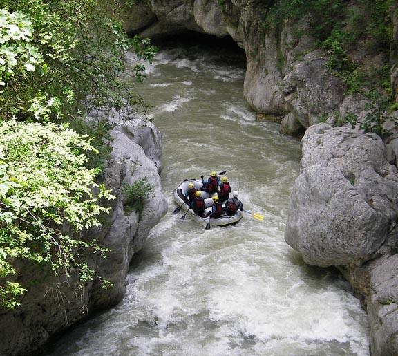 rafting alpes-maritimes