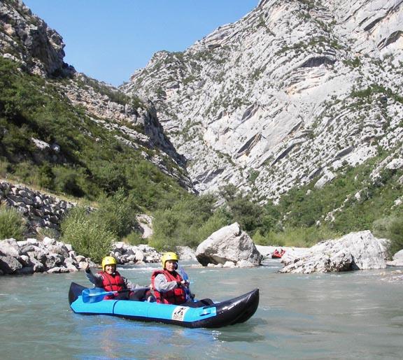 canoe verdon castellane