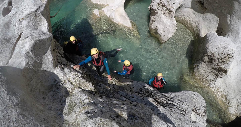 planete riviere randonnée aquatique gorges du verdon à Castellane 04